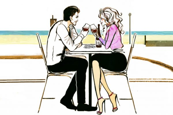 dating story with a psychologist